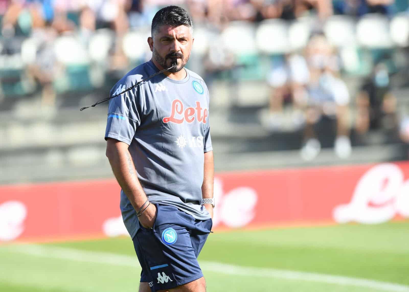 Gattuso incita Lozano. Osimenh ancora in goal