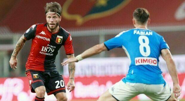 Napoli-Genoa gara a rischio