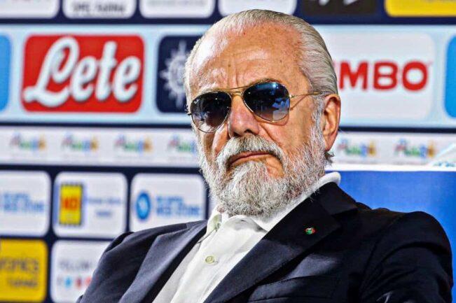 De Laurentiis rinvio Juventus-Napoli