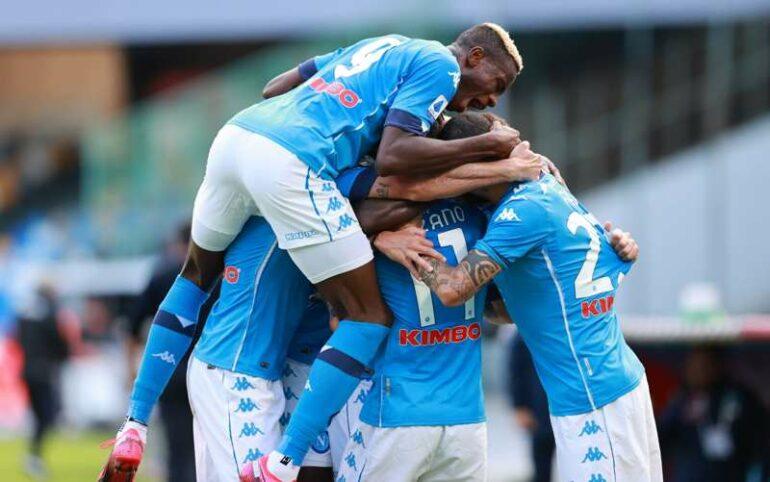 video napoli atalanta highlights