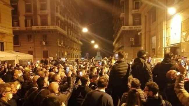 proteste napoli