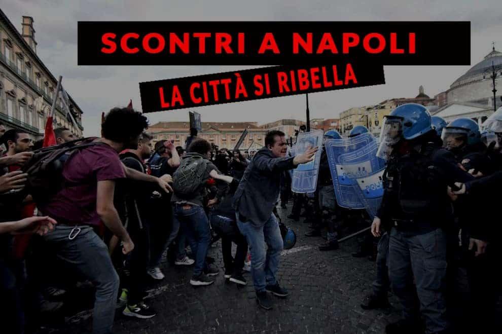 Scontri a Napoli