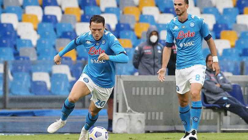 """Napoli, Zielinski: """"Covid? to benissimo, credo si tratti di un errore"""""""