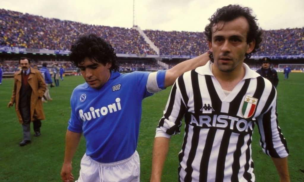 platini Maradona