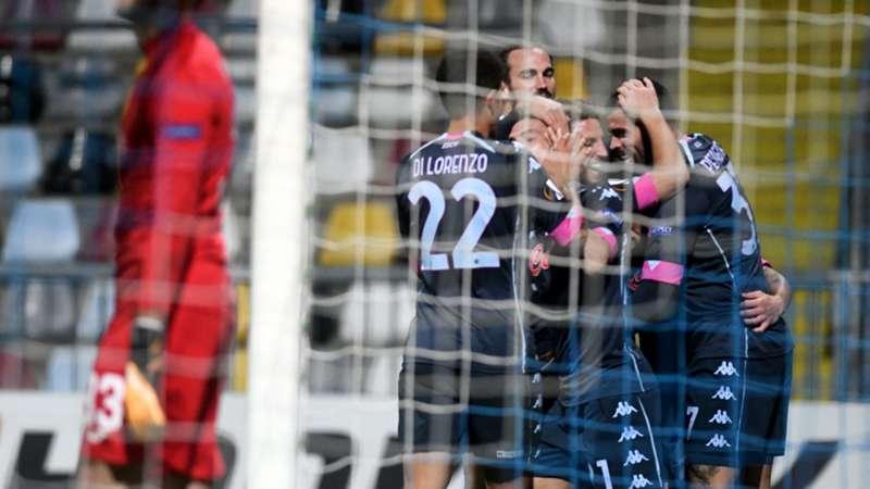 Un brutto Napoli supera il Rijeka. Gattuso furioso negli spogliatoi