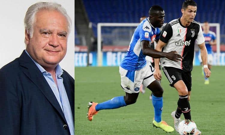 """Sconcerti: """"Le ASL bloccano le nazionali. Juve-Napoli va giocata"""""""
