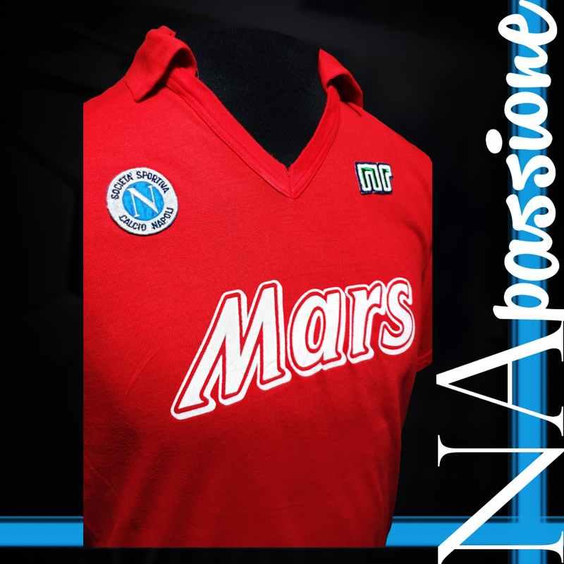 maglia rossa maradona atalanta fronte