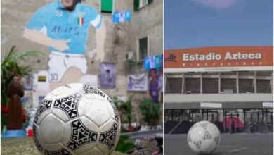 pallone maradona video