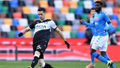 Highlights e gol Udinese-Napoli 1-2