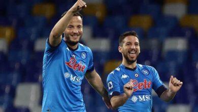 I video dei goal di Napoli-Benevento