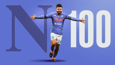 Insigne 100 goal Napoli