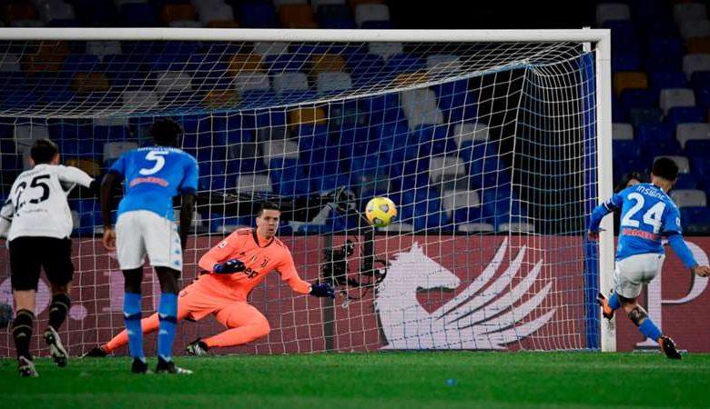 Risultato immagini per Napoli Juventus 1 a 0