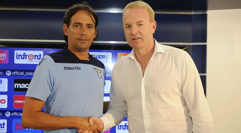 Aurelio De Lauretiis punta alla coppia della Lazio Inzaghi-Tare