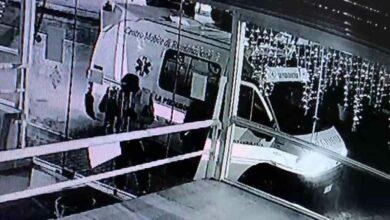 video ambulanza furto