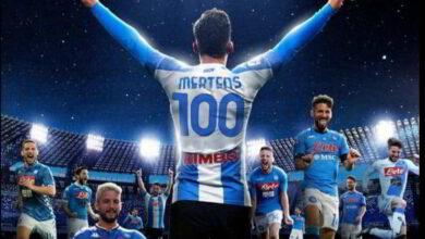 Mertens 100 gol serie A