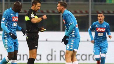 Napoli aiutato arbitri