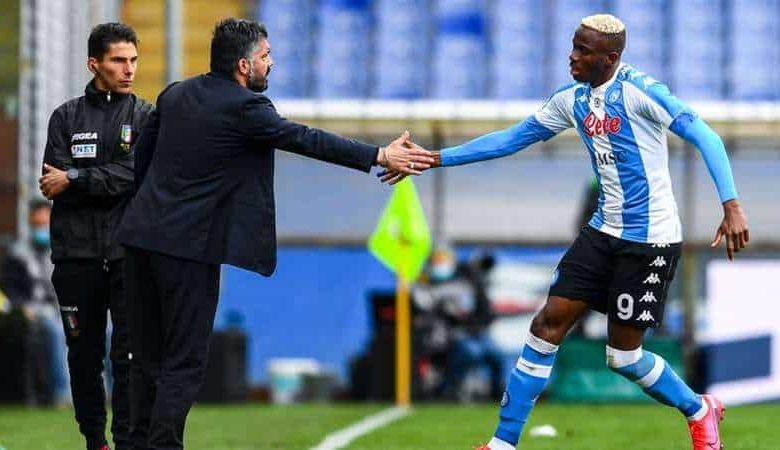 """L'agente di Osimhen: """"Resta a Napoli al cento per cento"""""""