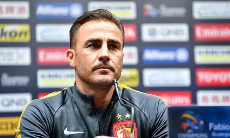cannavaro allenatore napoli