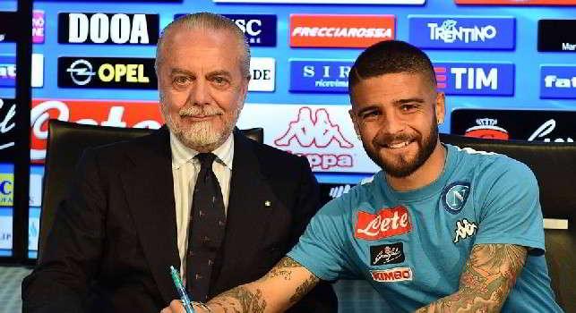 Rinnovo Insigne, incontro con De Laurentiis a fine stagione