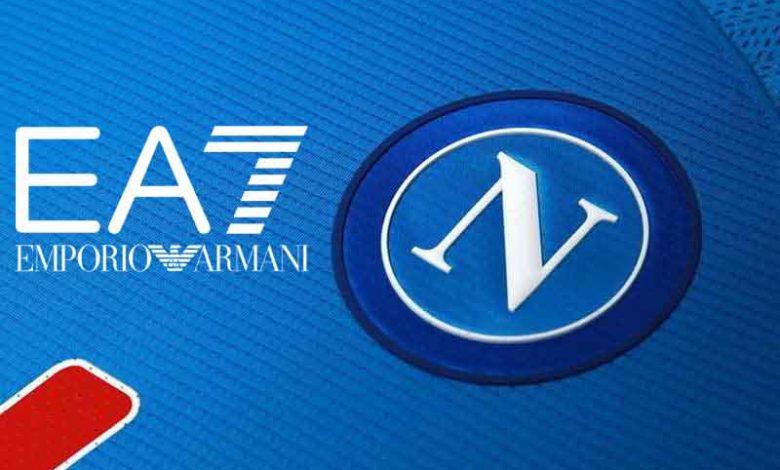 Armani EA7 maglia Napoli