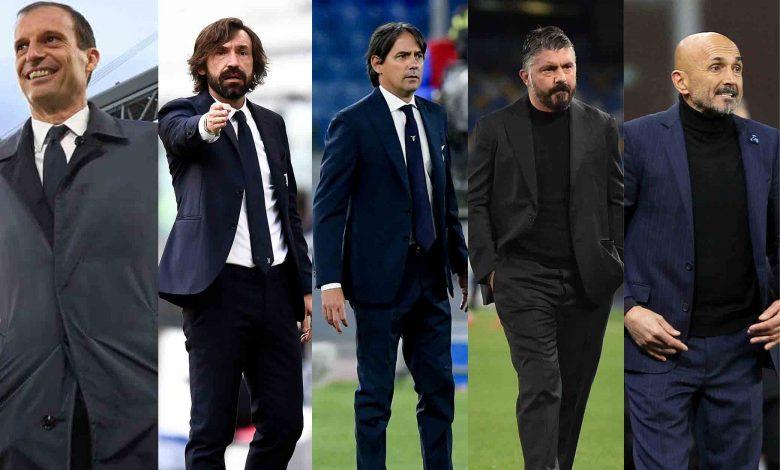 tutti gli allenatori della Serie A