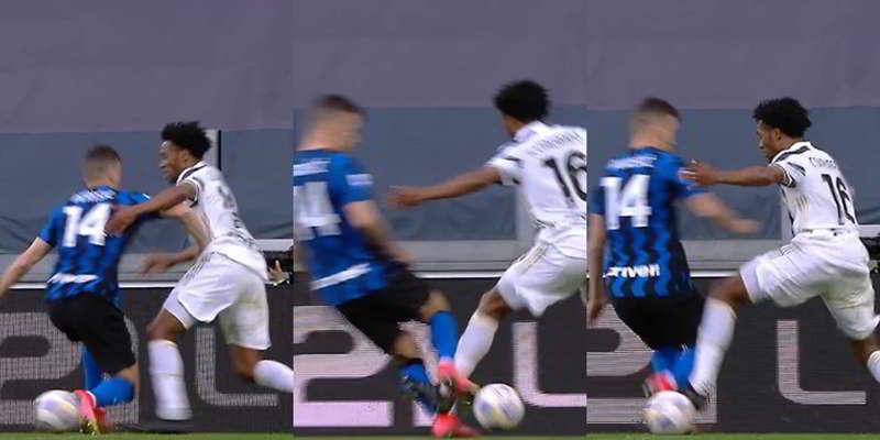 """Del Piero e Costacurta: """"Rigore Juventus, Perisic non fa nulla é Cuadrado che cerca il contatto"""""""