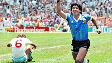 maradona gol inghilterra mondiale messico