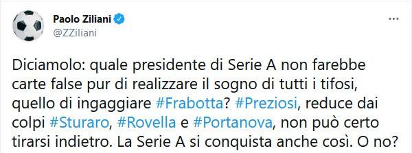 Juventus-Genoa ancora un affare, il commento di Zialiani è da applausi