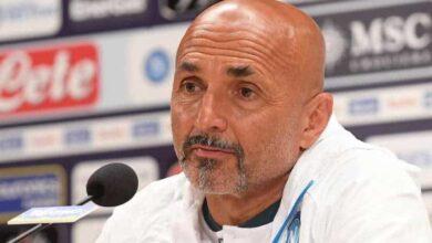 Luciano Spalletti in conferenza stampa