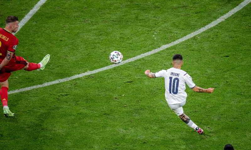 INSIGNE GOL UEFA 2020