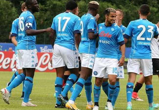 Napoli-Pro Vercelli 1-0