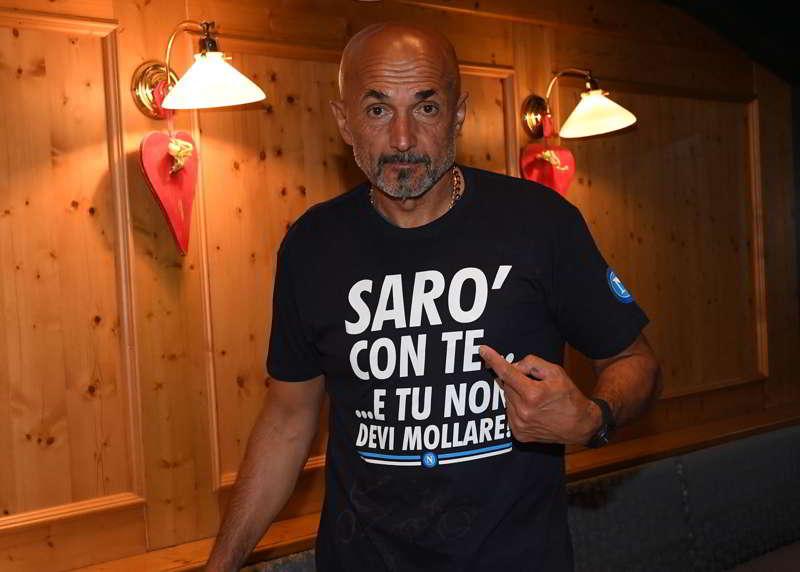 Spalletti crede nel Napoli, alla squadra: Il motto e il Sarrismo