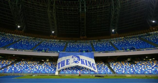 inaugurazione stadio maradona