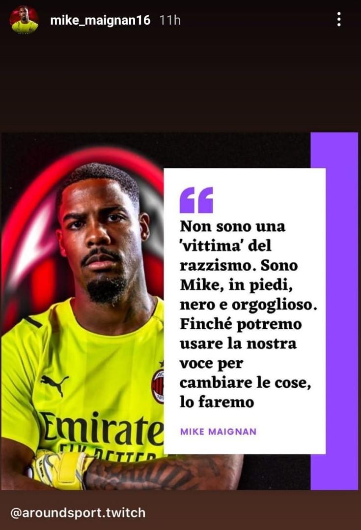 Insulti razzisti allo Juventus Stadium: da applausi la risposta di Maignan