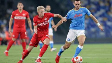 Fabian Ruiz Napoli-Spartak Mosca