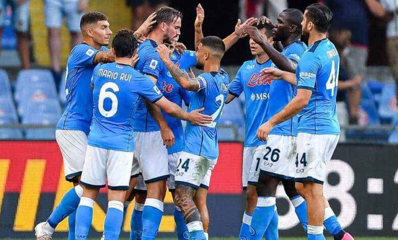 Terzo posto per il Napoli nella speciale classifica per il valore della rosa. all'ultimo posto si piazza la Salernitana con 39 milioni